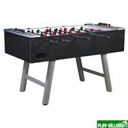 Настольный футбол (кикер) «Inter» (146 х 75 х 88 см, черный), интернет-магазин товаров для бильярда Play-billiard.ru. Фото 1
