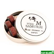 REI TIP & MAX Co. Наклейка для кия «Rei Samurai White» (M) 14 мм, интернет-магазин товаров для бильярда Play-billiard.ru. Фото 2