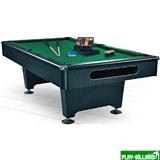Weekend Бильярдный стол для пула «Eliminator» 7 ф (черный) в комплекте, аксессуары + сукно, интернет-магазин товаров для бильярда Play-billiard.ru