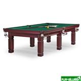 Weekend Бильярдный стол для русского бильярда «Texas» 9 ф (махагон), интернет-магазин товаров для бильярда Play-billiard.ru