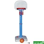 Weekend Баскетбольный щит на регулируемой опоре «Deluxe Basketball» (с мячом для мини-баскетбола), интернет-магазин товаров для бильярда Play-billiard.ru. Фото 1