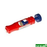 Weekend Точилка «Эффе» (триколор, пластик, диаметр наклейки 12,2 - 12,6 мм), интернет-магазин товаров для бильярда Play-billiard.ru. Фото 1