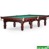 Weekend Бильярдный стол для русского бильярда «Classic II» 12 ф (махагон), интернет-магазин товаров для бильярда Play-billiard.ru