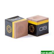 Weekend Мел «OB Premiun Chalk» (2 шт) бежевый, интернет-магазин товаров для бильярда Play-billiard.ru. Фото 1