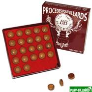 Weekend Наклейка для кия «BB Crown» 13.5 мм, интернет-магазин товаров для бильярда Play-billiard.ru