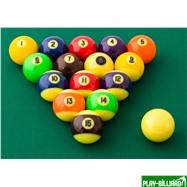 "Комплект шаров 57.2 мм ""Aramith Glow in the dark"", интернет-магазин товаров для бильярда Play-billiard.ru. Фото 3"