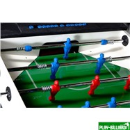 Norditalia Всепогодный настольный футбол (кикер) «Storm F-3 family outdoor» (138x76x88 см, жетоноприемник, защитный корпус в комплекте), интернет-магазин товаров для бильярда Play-billiard.ru. Фото 6