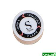 """Наклейка для кия """"Kamui Clear Original"""" (S) 13мм, интернет-магазин товаров для бильярда Play-billiard.ru. Фото 2"""