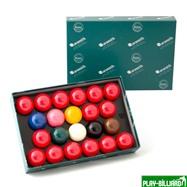 "Aramith Saluc Комплект шаров 52.4 мм ""Aramith Snooker"", интернет-магазин товаров для бильярда Play-billiard.ru. Фото 1"