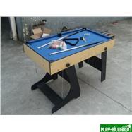 Многофункциональный игровой стол (119 х 61 х 81 см, светлый), интернет-магазин товаров для бильярда Play-billiard.ru. Фото 9