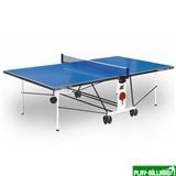 """Weekend Всепогодный складной стол для настольного тенниса """"Compact Outdoor LX""""  (274 х 152,5 х 76 см) с сеткой, интернет-магазин товаров для бильярда Play-billiard.ru"""