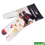 Longoni Перчатка бильярдная «Longoni Fancy Hot Lips 1», интернет-магазин товаров для бильярда Play-billiard.ru. Фото 1