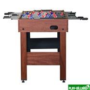 Настольный футбол (кикер) «Standart» (122x61x78.7 см, коричневый), интернет-магазин товаров для бильярда Play-billiard.ru. Фото 2