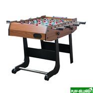 Weekend Настольный футбол (кикер) «Maccab Mini» (121x61x81, орех, складной), интернет-магазин товаров для бильярда Play-billiard.ru. Фото 2