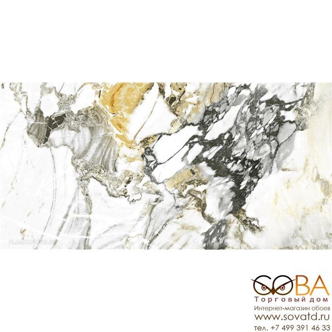 Керамогранит Pamesa  Cr.Lux Grotta Oro  Pul. Rect 60 x 120 купить по лучшей цене в интернет магазине стильных обоев Сова ТД. Доставка по Москве, МО и всей России
