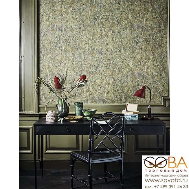 Обои BN 220050 Van Gogh 2 купить по лучшей цене в интернет магазине стильных обоев Сова ТД. Доставка по Москве, МО и всей России