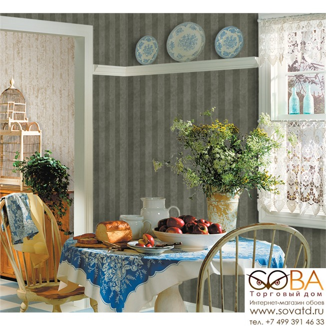 Обои Seabrook DA52000 Classic Elegance купить по лучшей цене в интернет магазине стильных обоев Сова ТД. Доставка по Москве, МО и всей России