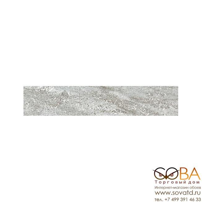 Плинтус Kerama Marazzi  Терраса серый 7,6х40,2 купить по лучшей цене в интернет магазине стильных обоев Сова ТД. Доставка по Москве, МО и всей России
