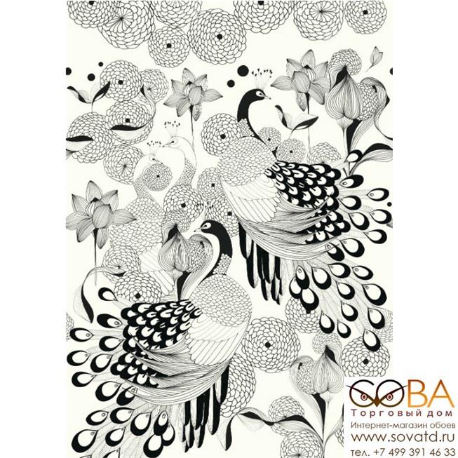 Панно Rasch Club Botanique 539165 купить по лучшей цене в интернет магазине стильных обоев Сова ТД. Доставка по Москве, МО и всей России