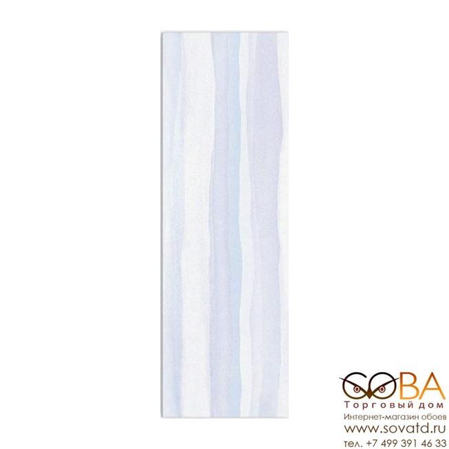 Плитка Meissen  Elegant Stripes Blue 25х75 купить по лучшей цене в интернет магазине стильных обоев Сова ТД. Доставка по Москве, МО и всей России