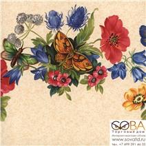 Бордюр Limonta Gardena 11505 купить по лучшей цене в интернет магазине стильных обоев Сова ТД. Доставка по Москве, МО и всей России