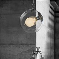 """Подвесной стеклянный светильник """"Равновесие"""""""