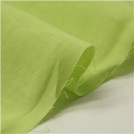 Конопляная ткань салатового цвета №12