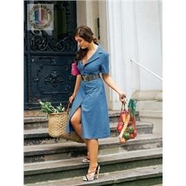 Женское платье - рубашка