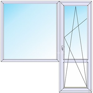 Балконный блок стандарт.