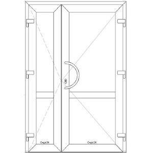 Дверь 11470*1920