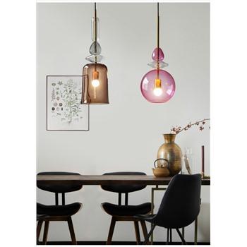 Подвесной светильник стекянный