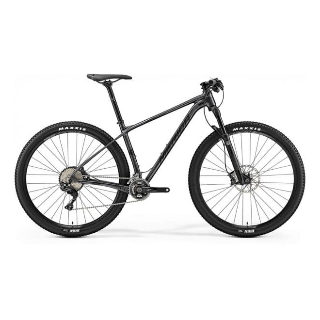 Велосипед Merida Big Nine 700 Dark Silver (Matt Black)  2019, интернет-магазин Sportcoast.ru