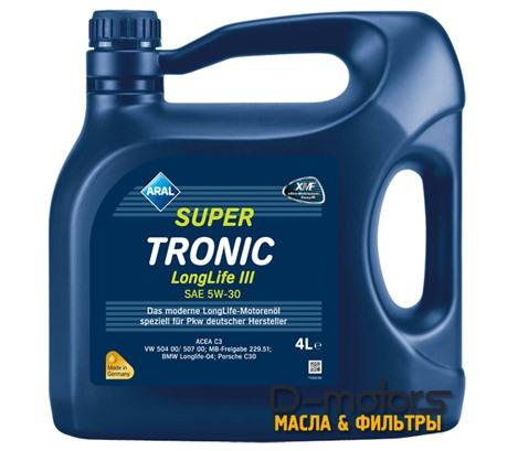 Моторное масло ARAL Super Tronic Longlife III 5W-30 (4л.)