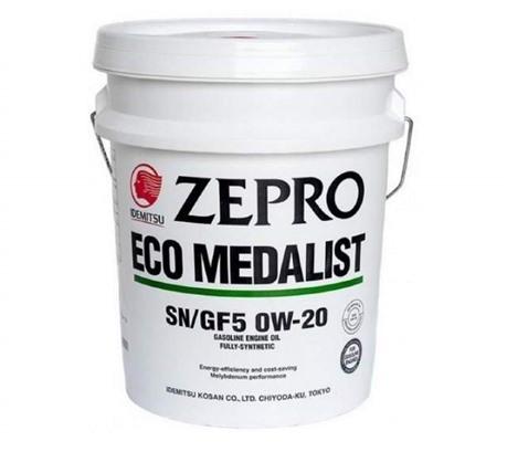 Моторное масло Idemitsu Zepro Eco Medalist 0W-20 (20л.)