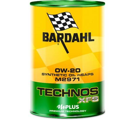 Bardahl C60 TECHNOS XFS M2971 0W-20 (1 л.)