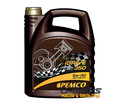 Моторное мало Pemco Idrive 350 5w-30 (4л.)