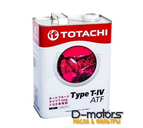 TOTACHI ATF TYPE T-IV (4л.)