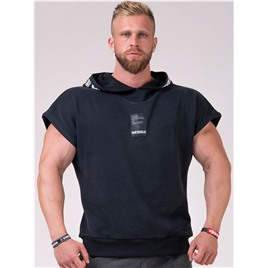 NE Reg top with hoodie L цв.чёрный