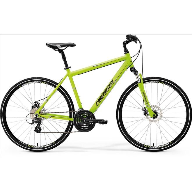Велосипед Merida Crossway 15MD Matt Green/Grey/Black (2017), интернет-магазин Sportcoast.ru