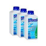 Комплект из 3 шт для бассейна Маркопул Альгитинн от водорослей (жидкость) 1л * 3 шт