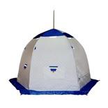 Зимняя палатка Пингвин 3 Термолайт трехслойная (оранжевый)