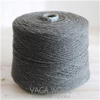 Пряжа City, 032 Смог, 144м/50г, шерсть ягнёнка, шёлк, Vaga Wool