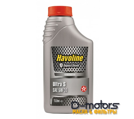 Моторное масло TEXACO HAVOLINE ULTRA S 5W-30 (1л.)