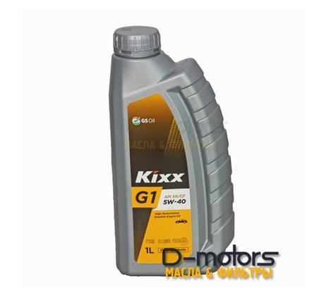 Моторное масло KIXX G1 5W-40 (1л)