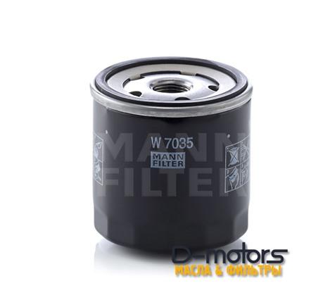Фильтр Масляный Mann W7035