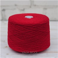 Пряжа Lambswool Мак 137, 212м/50г., Knoll Yarns, Poppy
