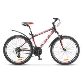 Велосипед Stels Navigator 630 V 26 (2016) Черный/Серебро/Красный, интернет-магазин Sportcoast.ru