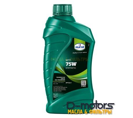 Трансмиссионное масло Eurol MTF 75W (1л.)