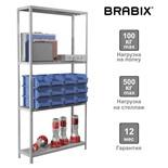 Стеллаж металлический Brabix MS-185/30/70-4 (S241BR353402)