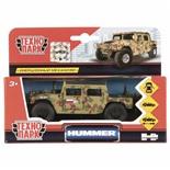 Машина инерционная Технопарк Hummer H1 Военный 12 см SB-18-09-H1-M(GY)-WB, 272078